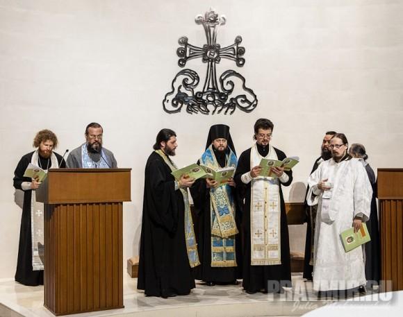 священство из разных уголков Азии, Австралии, Новой Зеландии и России