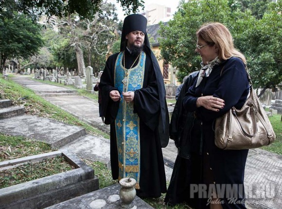 владыка Ефрем и регент матушка Кира Поздняева