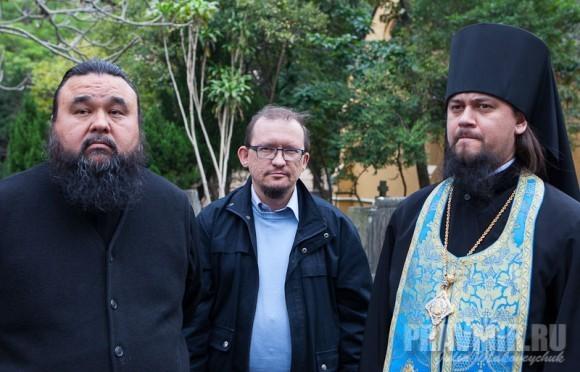 прот. Владимир Бойков, Михаил Дроздов, епископ Ефрем