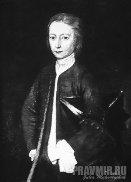 первый православный американец - полковник Филипп Ладвелл (единственный дошедший до нас портрет). Принял Православие в Лондоне в 1738 году. В виде исключения Синод благословил его, только что принятого в лоно Церкви двадцатидвухлетнего мирянина, взять в Америку Святые Дары.