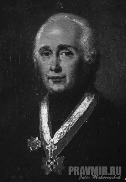 протоиерей Андрей Самборский, настоятель посольской церкви в конце 1770-х.