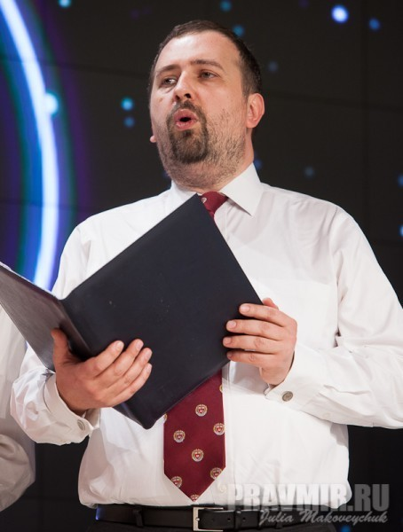 Андрей Золотов-младший - сын юбиляра, журналист, главный редактор Russia Profile