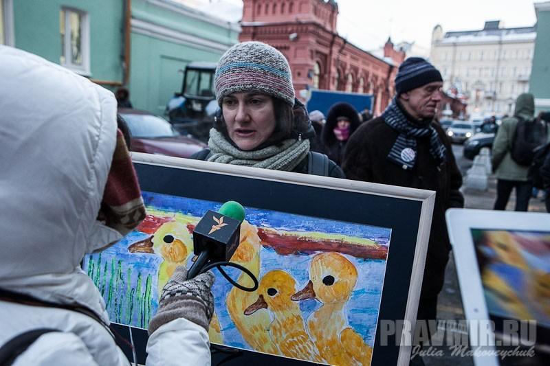 Пикеты против запрета усыновления зарубеж у Государственной Думы. Фото Юлии Маковейчук (3)