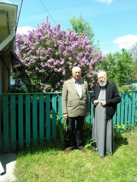 Митрополит Владимир с братом Степаном. с. Марковцы, Хмельницкая область