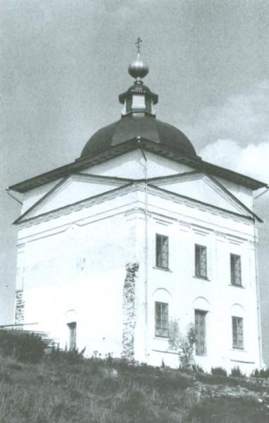 Никольская церковь близ Тимонихи, восстановленная Беловым