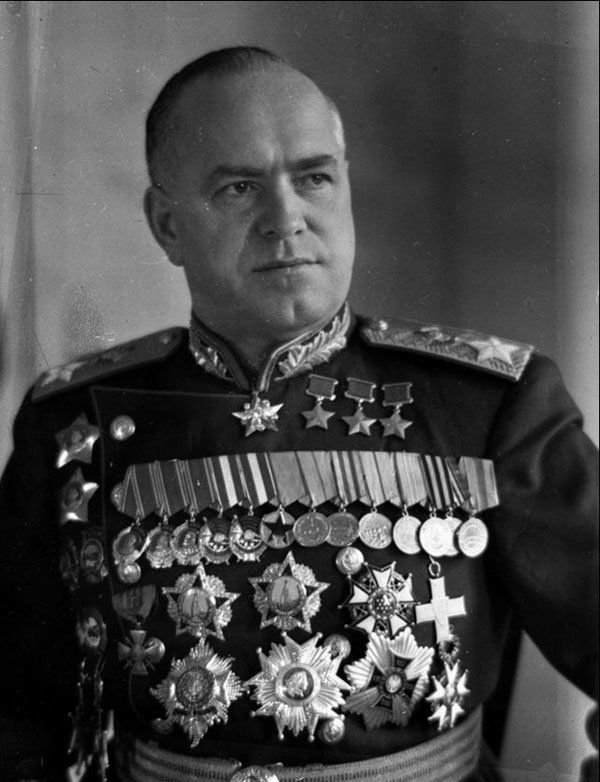 Берлинская операция. Маршал Жуков