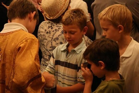Фото с сайта собора св. Иоанна Предтечи в Вашингтоне - http://www.stjohndc.org