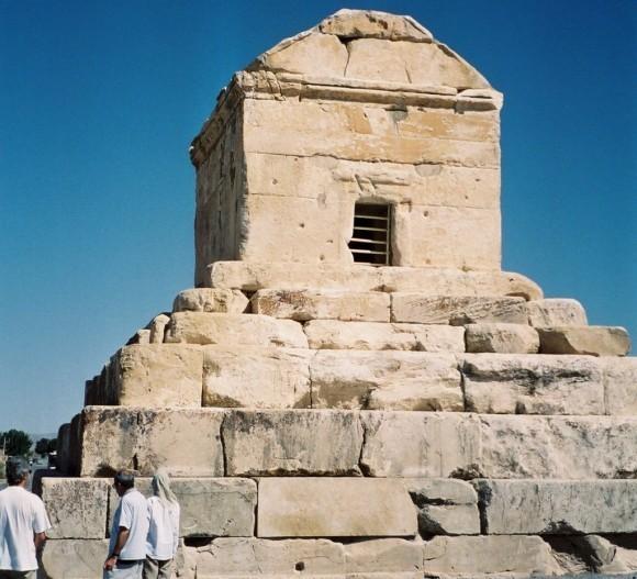 мавзолей Кира в Пасаргадах