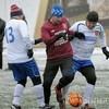 Состоялся футбольный матч между между сборными Санкт-Петербургской епархии и правительства города