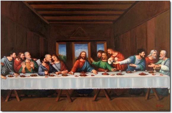 Тайная вечеря. Леонардо да Винчи. Источник: artgallery2000.com