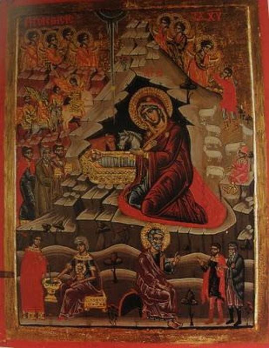 Монастырь Каракал. Икона 18 в.