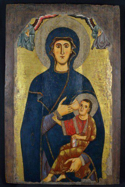 Мадонна делла Катена. Средневековые иконы Рима и Лацио - Млекопитательница
