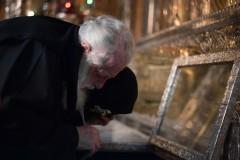Патриарх Илия II посетил Троице-Сергиеву Лавру и Московскую духовную академию (+ФОТО)