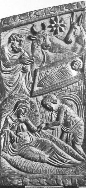 Кафедра архиеп. Максимиана. 546-556 г. Архиепископский музей, Равенна. Фрагмент