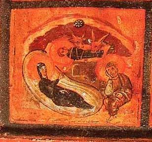 Реликварий капеллы Санкта Санкторум. VI в. Музеи Ватикана, Рим. Фрагмент