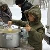 Многодетная семья кормит сотни голодных (+ ФОТО)