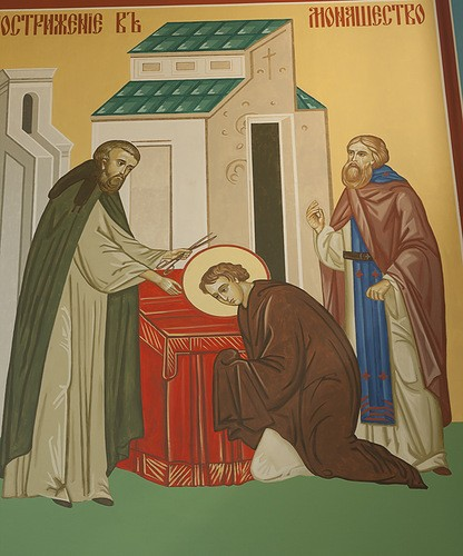 Пострижение в монашество