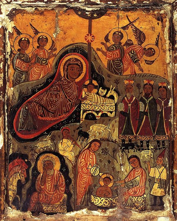 Икона. VII - IX в. Монастырь св.Екатерины, Синай