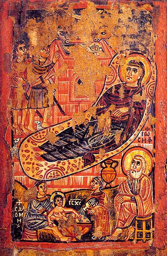 Икона. VIII - IX в. Византия