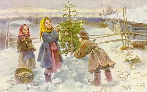 Открытка к Рождеству (83)