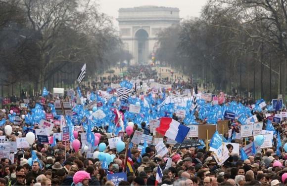 Франция против однополых браков (3)