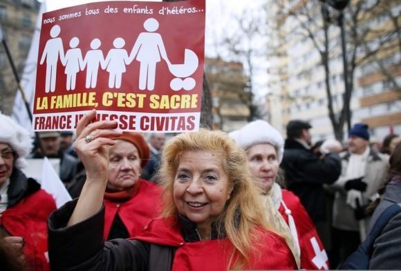 Франция против однополых браков (10)