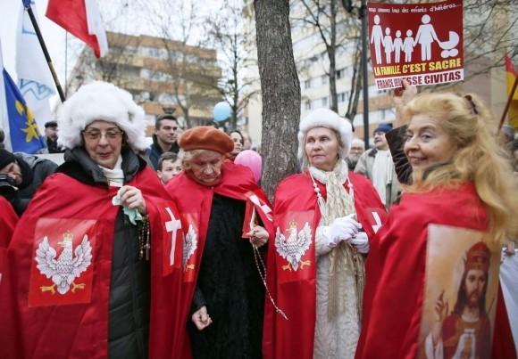 Франция против однополых браков (11)