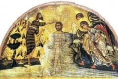 Крещение Господне – картинки, иконы, фрески, мозаики