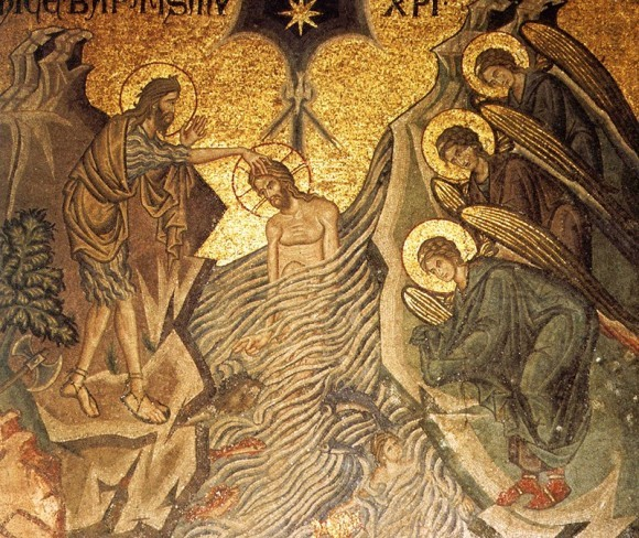 Мозаика собора Сан-Марко. XIII в. Венеция, Италия. Фрагмент