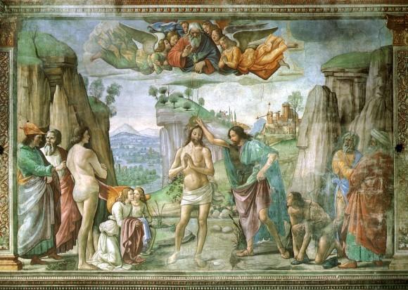 Доменико Гирландайо. Фреска церкви Санта Мария Новелла. Ок. 1486-1490 г. Флоренция, Италия