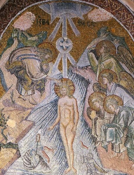Мозаика монастыря Хора (Кахрие-джами) в Константинополе. 1316-1321 г. Стамбул, Турция