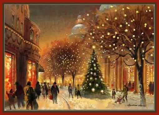 Рождественская открытка (7)