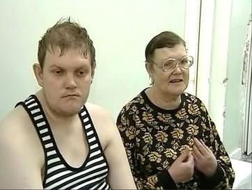 Виталий Седухинский с матерью