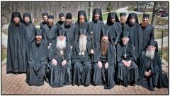 Братия Кресто-Воздвиженского монастыря
