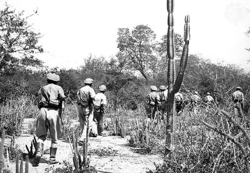 Боливийский патруль в Чако