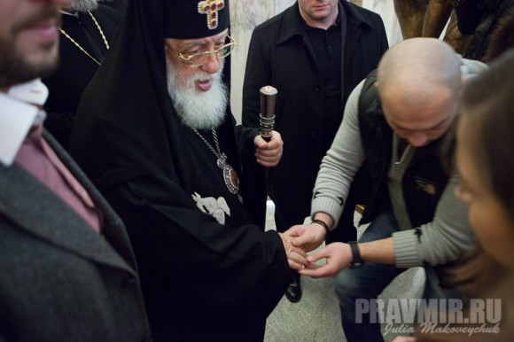 Католикос-Патриарх всея Грузии в Москве. Фото Ю. Маковейчук (4)