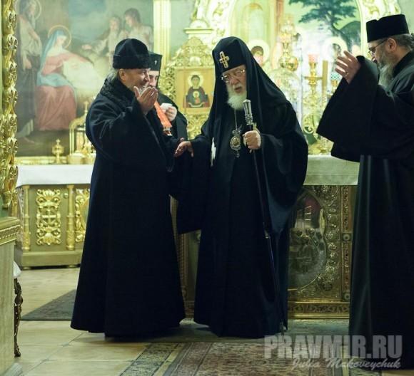 Католикос-Патриарх всея Грузии в Москве. Фото Ю. Маковейчук (7)