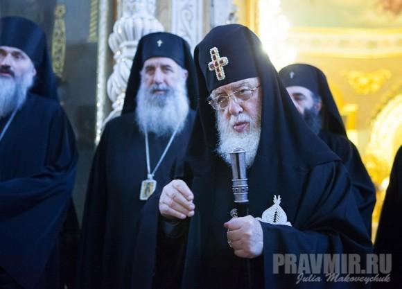 Католикос-Патриарх всея Грузии в Москве. Фото Ю. Маковейчук (9)
