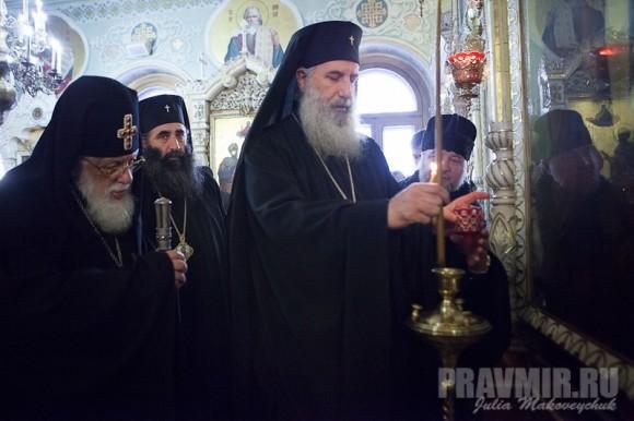 Католикос-Патриарх всея Грузии в Москве. Фото Ю. Маковейчук (14)