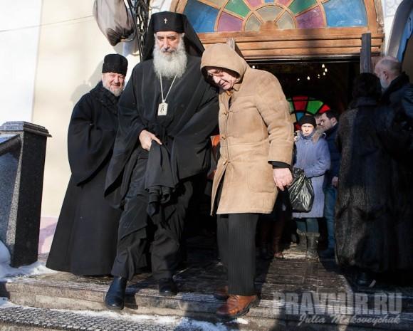 Католикос-Патриарх всея Грузии в Москве. Фото Ю. Маковейчук (17)