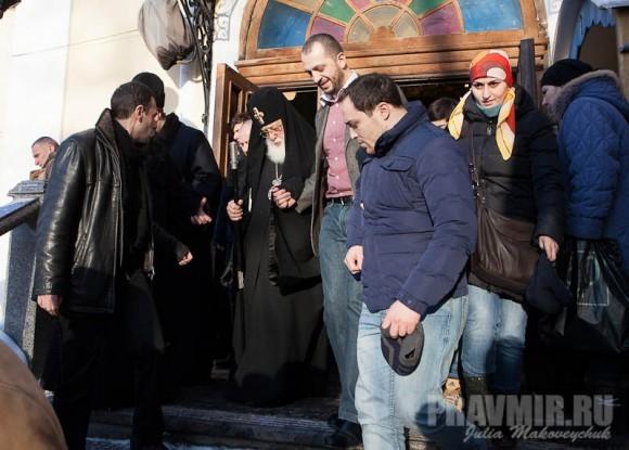 Католикос-Патриарх всея Грузии в Москве. Фото Ю. Маковейчук (18)