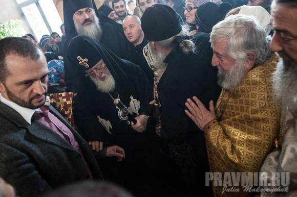 Католикос-Патриарх всея Грузии в Москве. Фото Ю. Маковейчук (20)