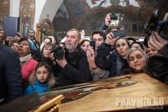 Патриарх Грузинский Илия – паломничество по храмам Москвы (+ ФОТО)