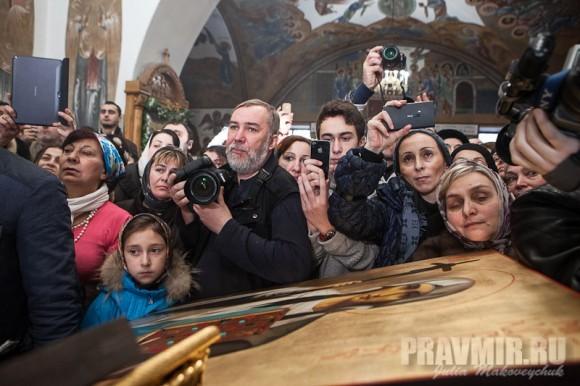 Католикос-Патриарх всея Грузии в Москве. Фото Ю. Маковейчук (22)