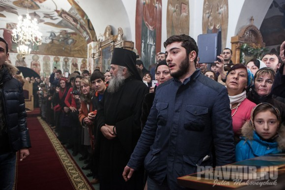 Католикос-Патриарх всея Грузии в Москве. Фото Ю. Маковейчук (23)