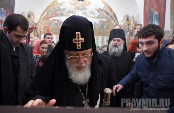 Католикос-Патриарх всея Грузии в Москве. Фото Ю. Маковейчук (24)