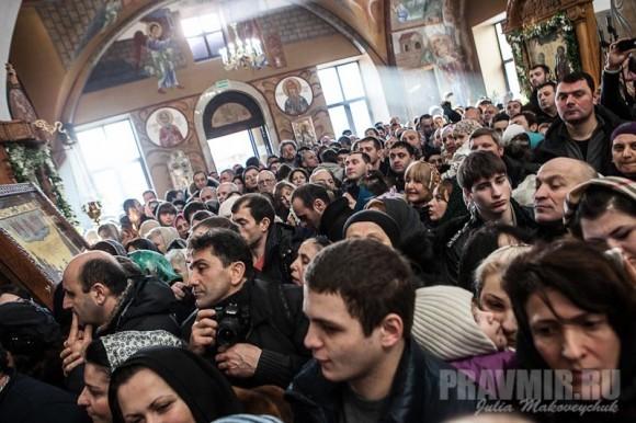 Католикос-Патриарх всея Грузии в Москве. Фото Ю. Маковейчук (29)