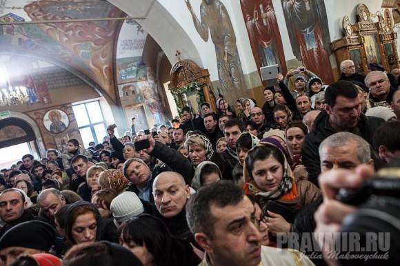 Католикос-Патриарх всея Грузии в Москве. Фото Ю. Маковейчук (32)