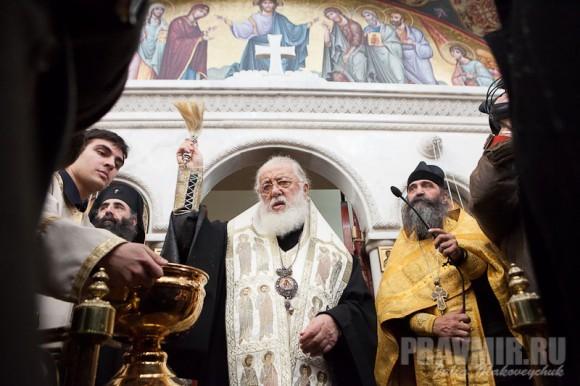 Католикос-Патриарх всея Грузии в Москве. Фото Ю. Маковейчук (34)