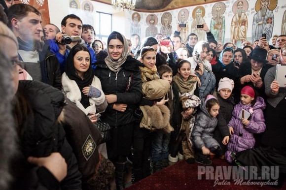 Католикос-Патриарх всея Грузии в Москве. Фото Ю. Маковейчук (37)